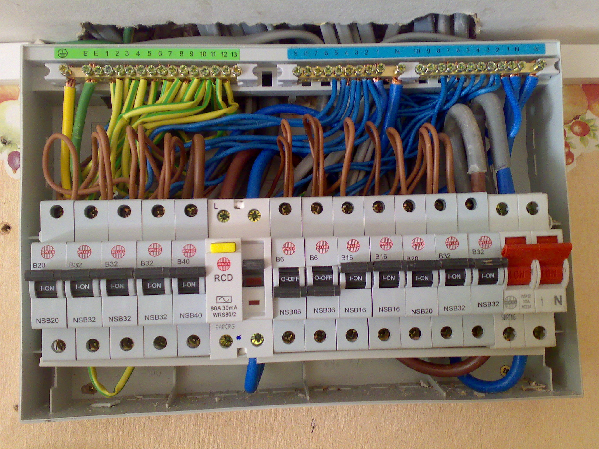 Home Fuse Box Wiring Diagram - Merzie.net